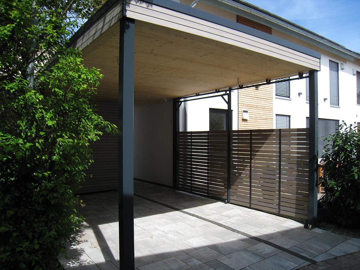carport elmendorff design handwerk. Black Bedroom Furniture Sets. Home Design Ideas